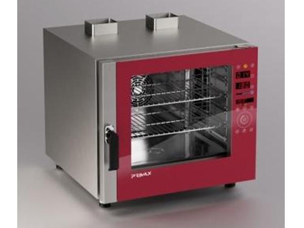 Forno a gas convenzione e vapore diretto per gastronomia 6 - Forno a vapore prezzi ...