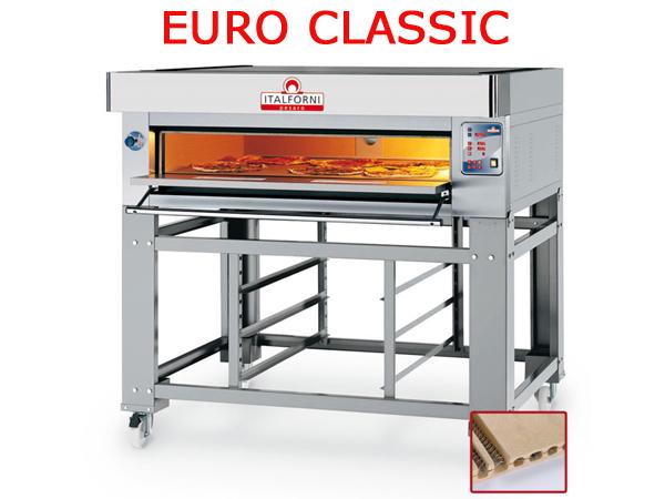 FORNO PIZZA ELETTRICO MODULARE EURO CLASSIC EC8/I (INOX)TOTALMENTE REFRATTARI...