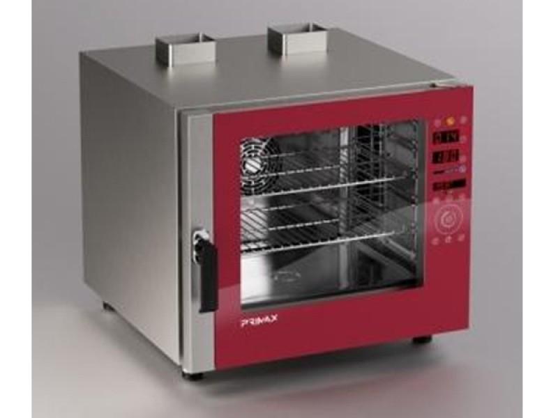 Forno a gas convenzione e vapore diretto per gastronomia 6 gn 1 1 forni cottura e linea - Forno con cottura a vapore ...