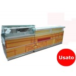 BANCO BAR GASTRONOMIA USATO L355 CM