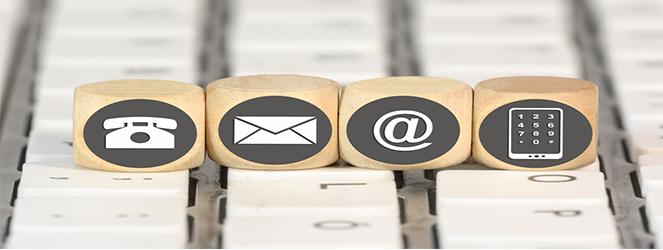Contattateci tramite email o telefonateci ai numeri che trovate nella nostra pagina